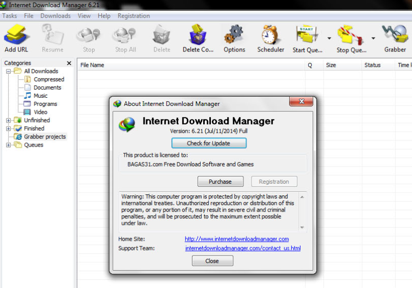 IDM 621 Build 10 Full Crack - Internet Download Manager