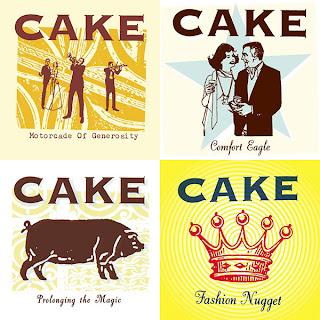 Capas CAKE de 1995 a 2001
