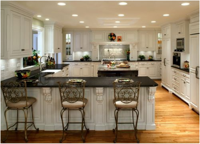 English country kitchen ideas room design inspirations for White country kitchen ideas