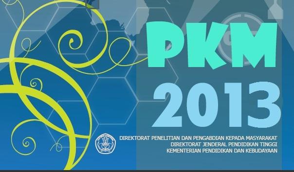 Program kreativitas mahasiswa pkm 2013 panduan pkm 2013 contoh
