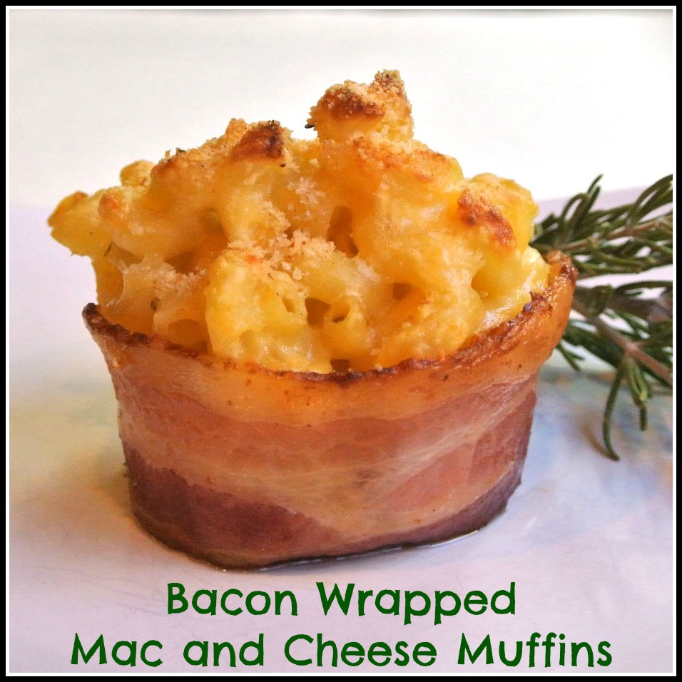 Mom, What's For Dinner?: Bacon Wrapped Mac & Cheese
