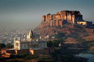 Mehrangarh Fort in Jodhpur Rajasthan