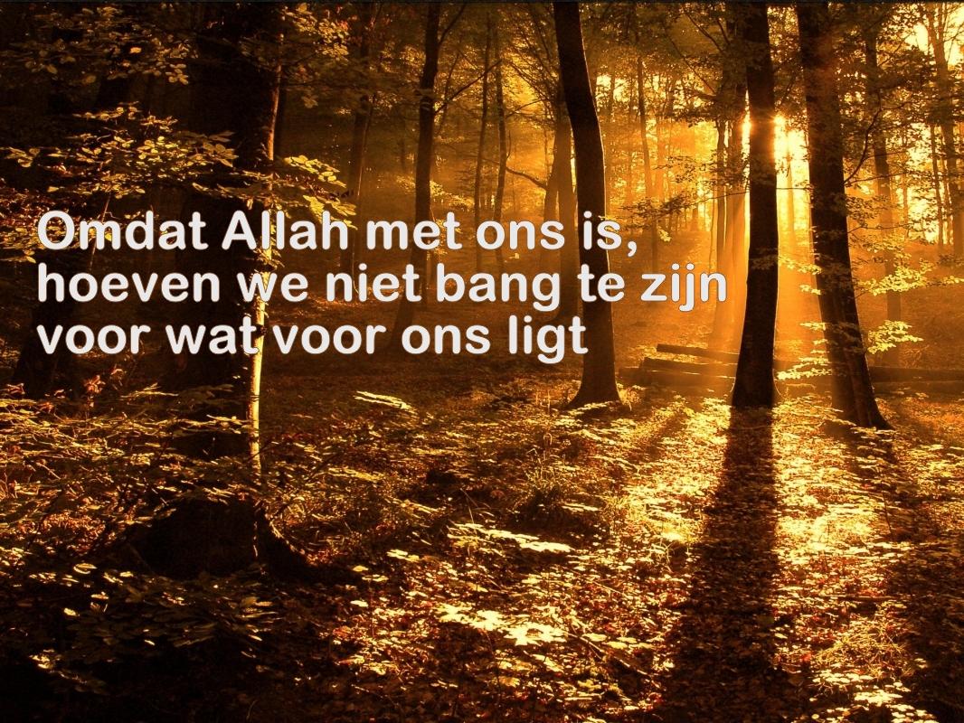 Citaten Quran : Citaten en wijze woorden uit de islam allah is met ons