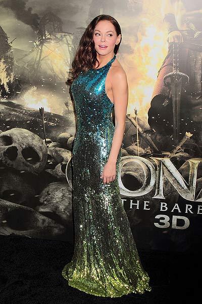 Pic Rose McGowan at At The 'Conan The Barbarian' Premiere