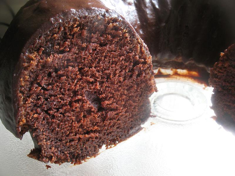 Rich Chocolate Bundt Cake with Bittersweet Chocolate Glaze | Lisa's ...
