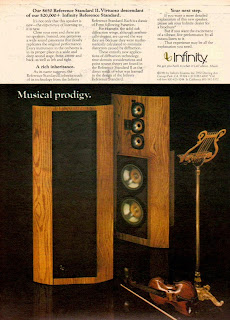 infinity loudspeaker