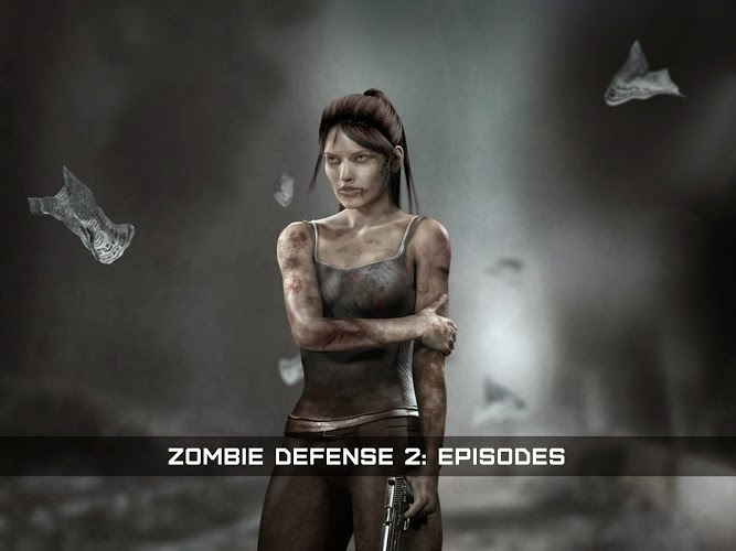 Zombie Defense 2: Episodes Gameplay Android