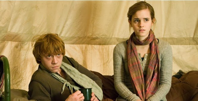 Hermione didn't really belong with Ron