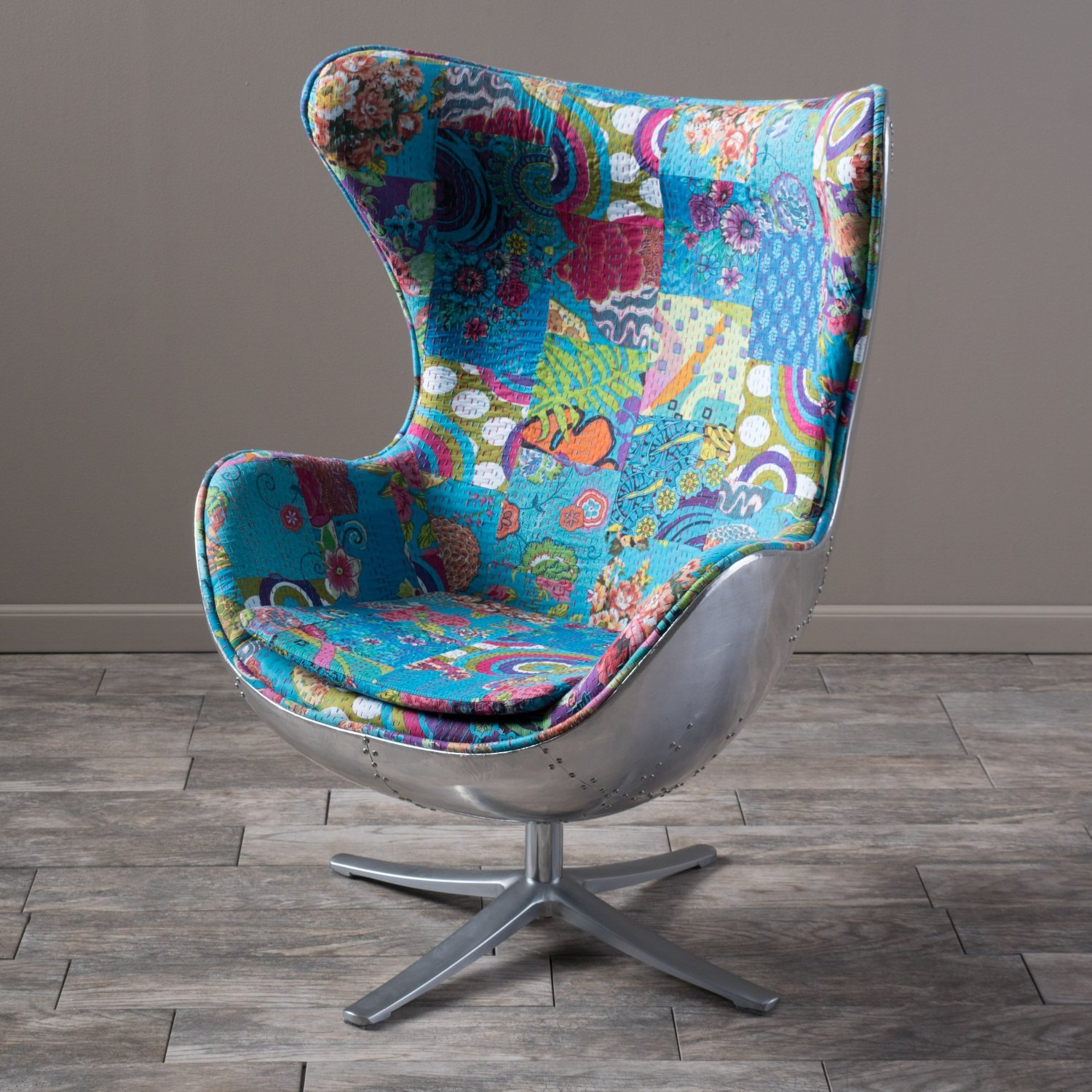 Total fab mid century modern swivel chairs for Modern furniture for less
