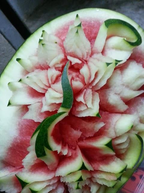 ... ukiran buah fruit carving ukiran ais ice carving serta gubahan bunga