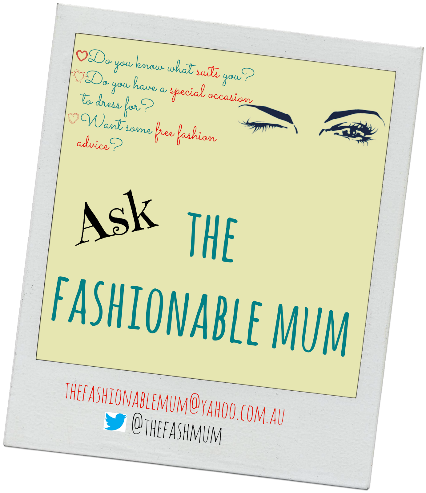 Ask the Fashionable Mum
