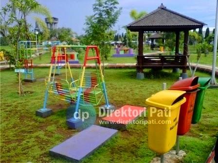 Taman kota Kalidoro Pati