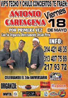► Antonio Cartagema y Su Orquesta En Bogotá