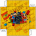 Lego Movie: Free Printable Boxes.
