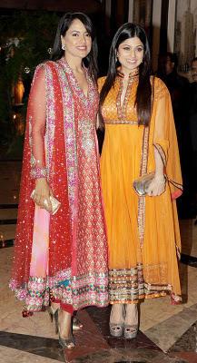 Shamita Shetty and Sameera Reddy Stills