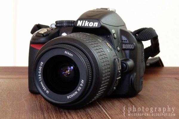 Nikon D3100 18-55mm VR Objetktiv