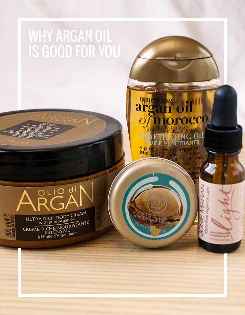 Learn exactly why argan oil is good for your skin