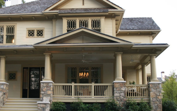 Ten fabulous options for a front porch addition for L shaped house front porch