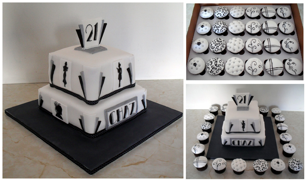 Art Deco Design Cake : Art Deco on Pinterest Art deco, Deco and Art Deco Flowers