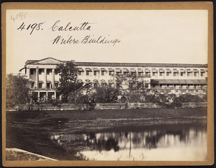 Writers' Buildings Calcutta (Kolkata) - Mid 19th Century