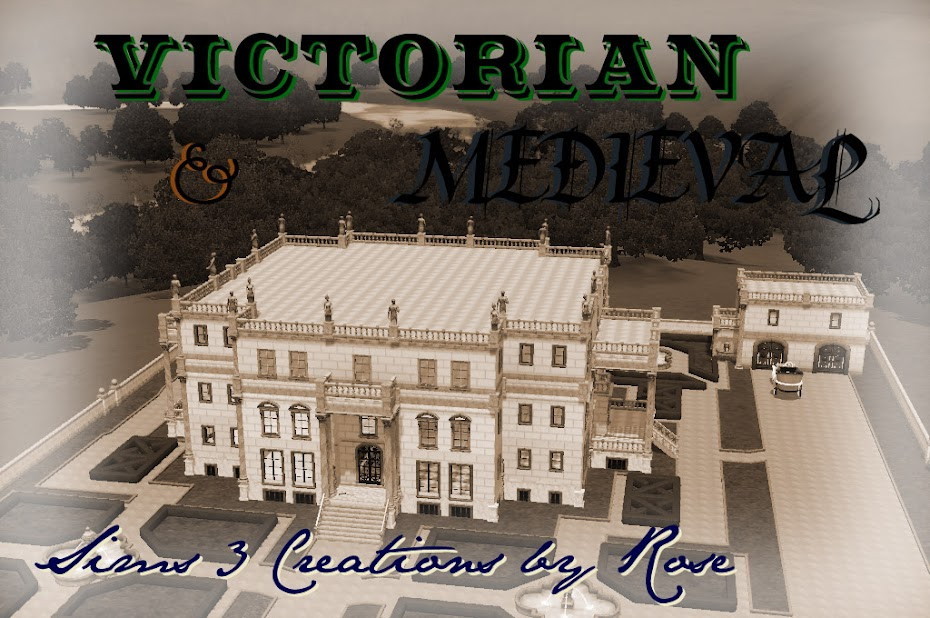 Victorian & Medieval Sims Creations
