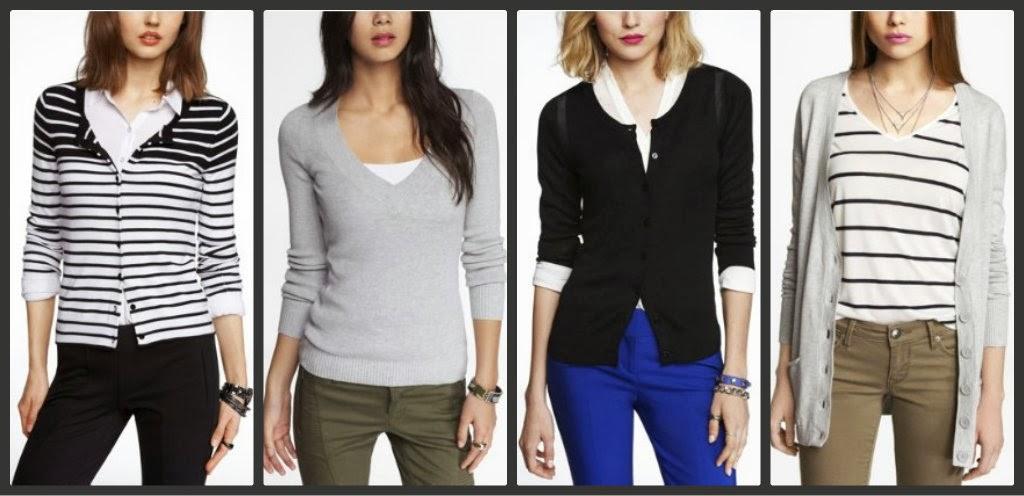 Express sweater, cardigan, pullover, boyfriend, v neck