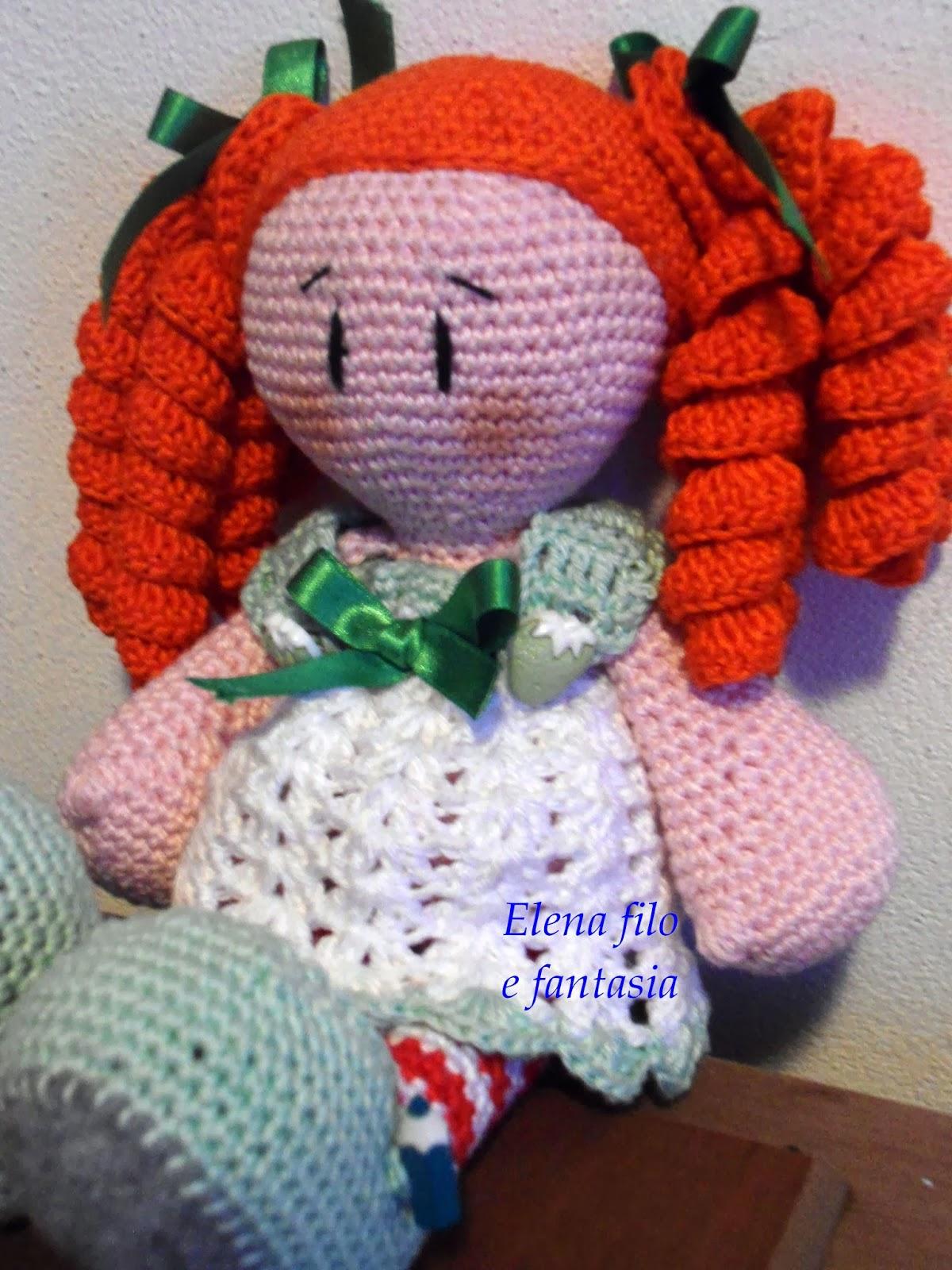Amigurumi Tutorial Bamboline : Elena Filo e Fantasia: Ancora bamboline amigurumi