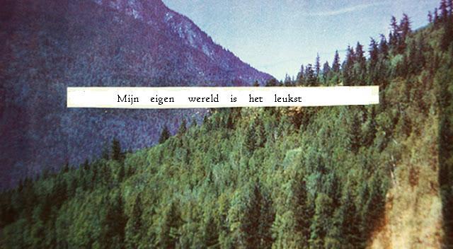 Mijn eigen wereld is het leukst