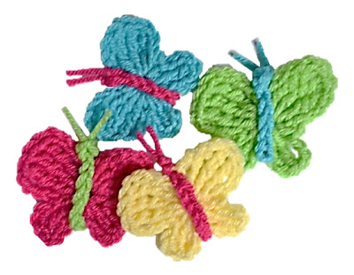 Crocheted Butterflies