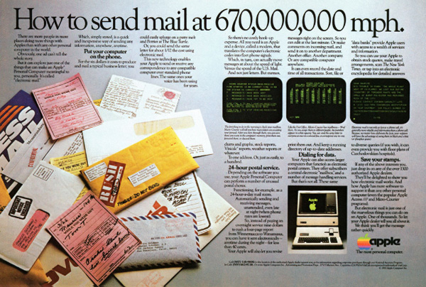• Publicidades antiguas de Computadoras y Tecnologia
