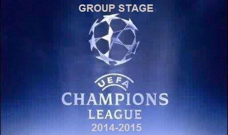 Hasil Pertandingan Babak Penyisihan Group Liga Champions 2014-2015