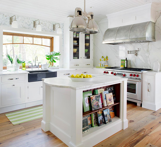 9 Vital Elements To Include In Your Farmhouse Kitchen: 2013 Fresh Kitchen Decorating Update Ideas For Summer