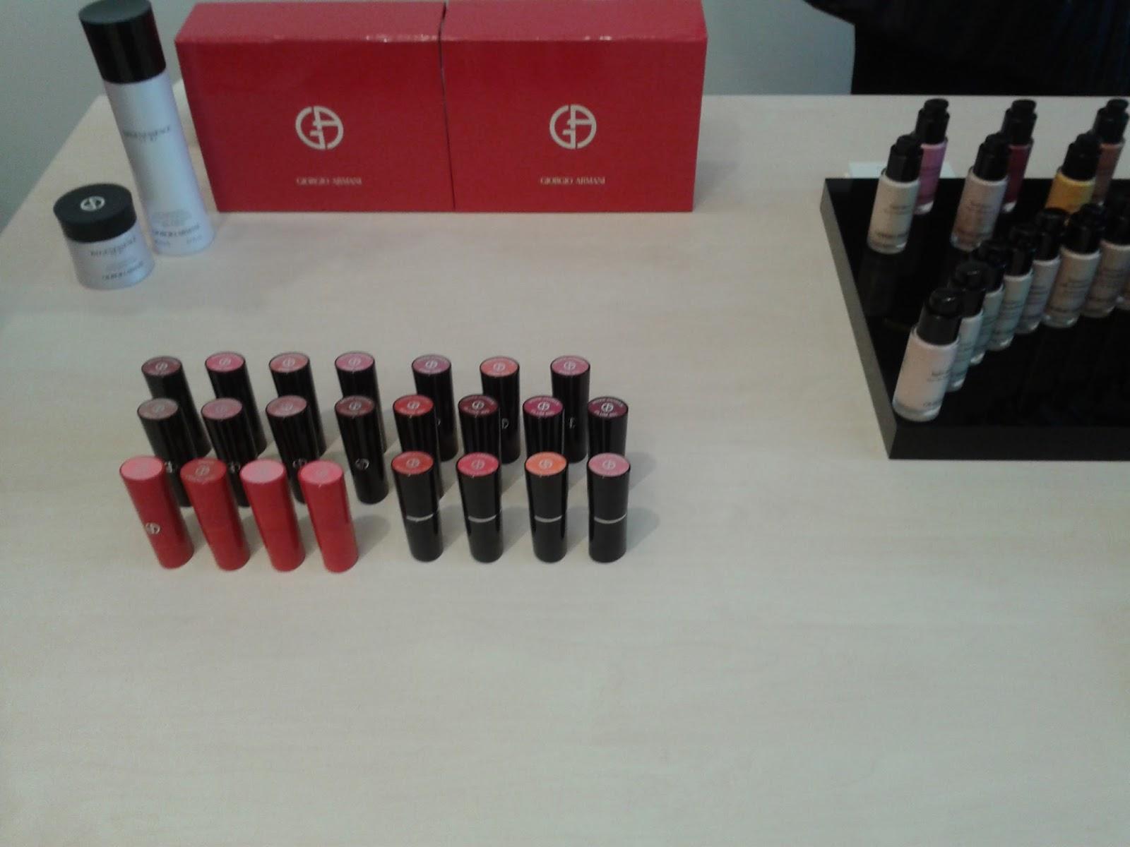Armani CC lipsticks