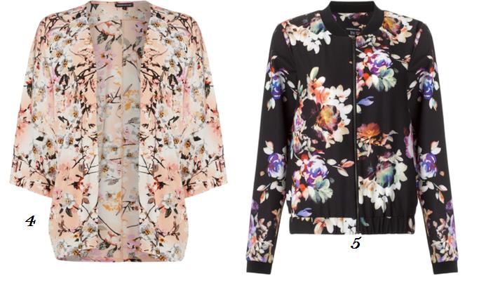 Altuzarra For Target, Floral Bomber Jacket, Floral Print Kimono