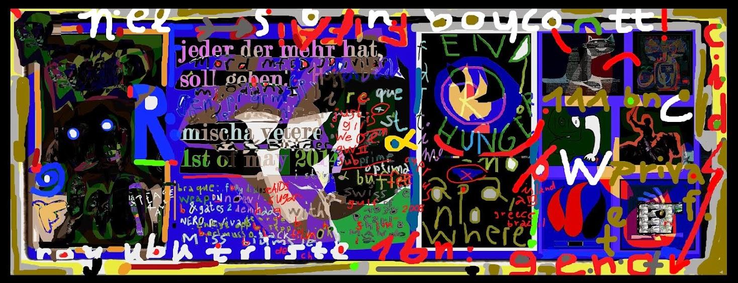 viva la revolución mischa vetere DIE GEISTIGE REVOLUTION zum ersten mai 2014 antirassismus berlin