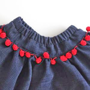 2 ways to insert elastic in nirma skirt