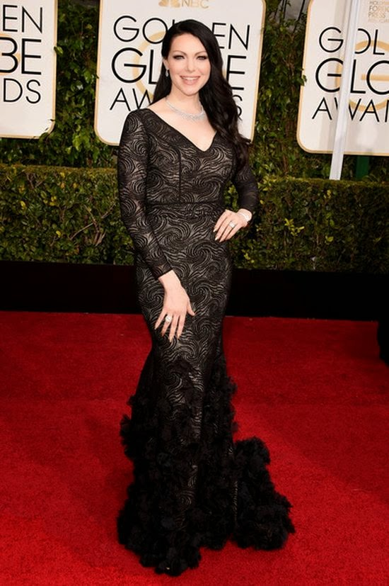 We're not so sure why Laura Prepon looked so never ending on the 72nd Annual Golden Globe Awards.  Maybe the 34-year-old just exercising her art to the right place as she's on completely lonely to the red carpet event at Beverly Hills, CA, USA on Sunday, January 11, 2015.