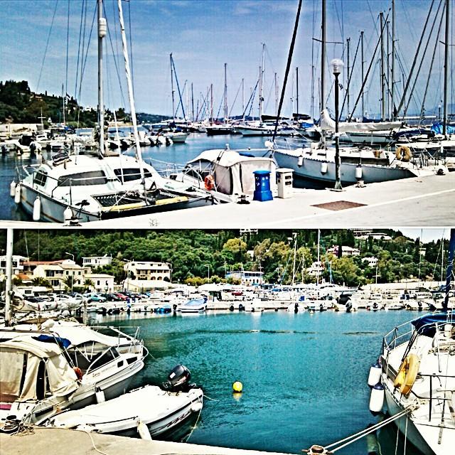Instagram @lelazivanovic. Corfu island.