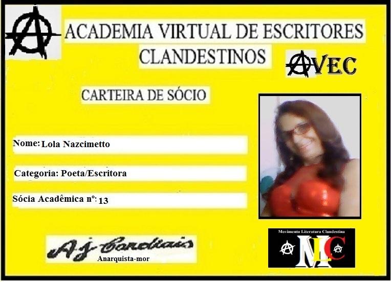 Sócia da AVEC nª 13