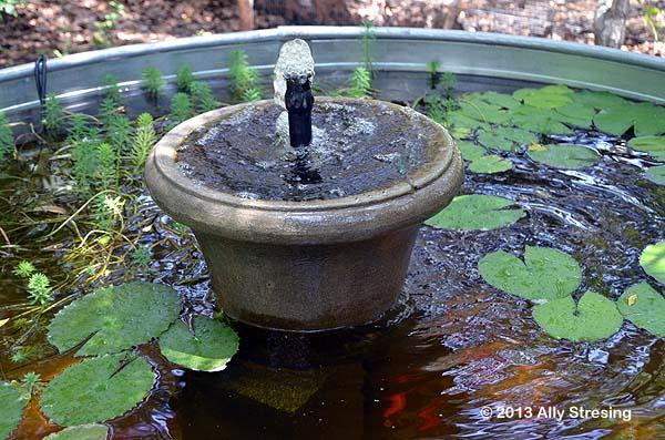 Garden Ally Stock Tank Fountain