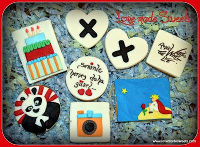 Küçük prens kung-fu panda roger waters the wall cookie kurabiye