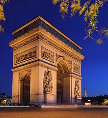 Tempat Wisata Di Paris - Arc de Triomphe de l'Etoile