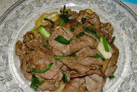 Stir-fried Beef with Ginger and Onions (Bò Xào Gừng và Hành Tây)2