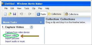 import video on movie maker