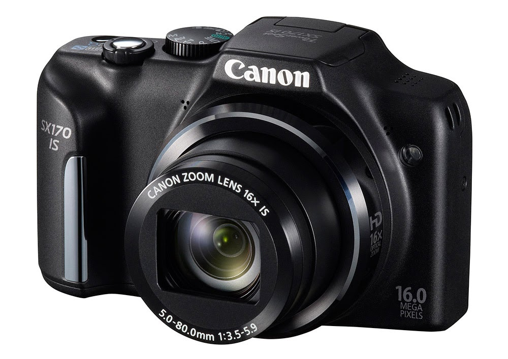 Foto Kamera Canon PowerShot SX170 IS 16MP New Camera Pocket