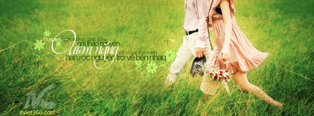 Ảnh bìa Facebook cho tình yêu đẹp - Cover FB timeline love, ươm nắng