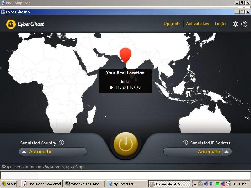 Free Cyberghost VPN