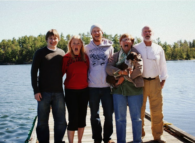 the gahler-plank family in lake of the woods canada