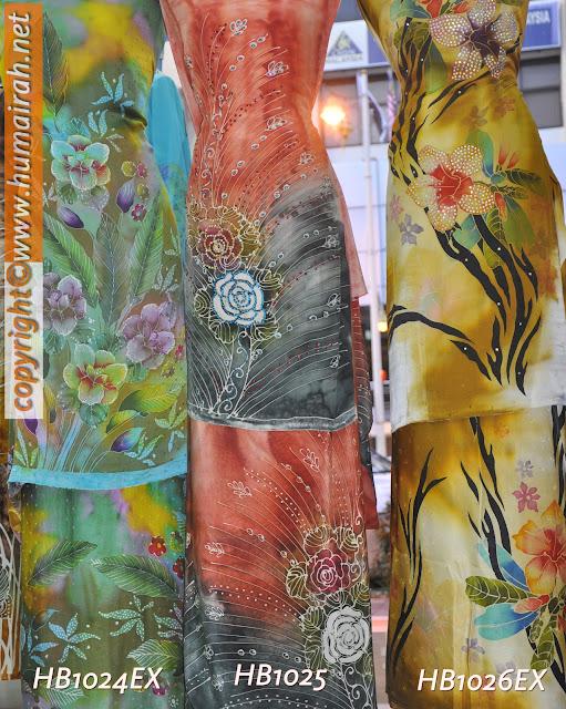 Bunga Lalang, Ombak Rindu Abstrak Exclusive - BATIK SUTERA 1