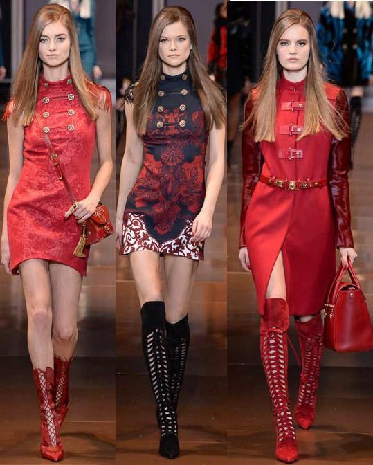 versace, fall 2014, milan fashion week, runway